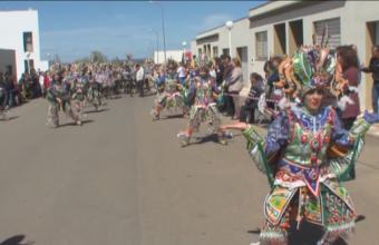 Primera concentración carnavalera en Arroyo