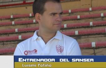 Luismi Patiño entrenador San Servan.
