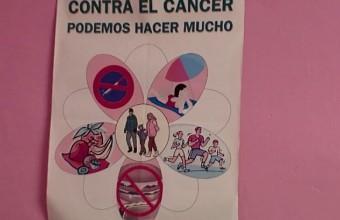 Presentación actividades día contra el cáncer 2014 Arroyo de San Serván (Badajoz).
