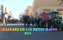 PRIMERA PARTE DE CABALGATA REYES MAGOS 2015 Arroyo de San Serván.