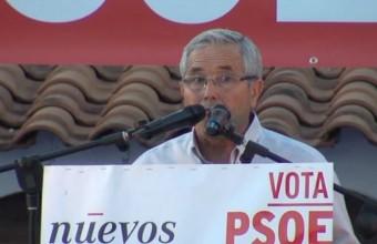ACTO PUBLICO  DEL  PSOE EN ARROYO DE SAN SERVAN 2015