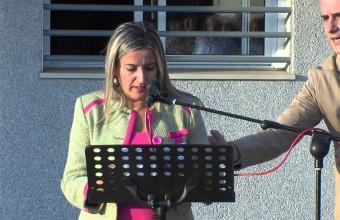 Acto de reapertura de las guardias las 24 horas del consultorio medico de Arroyo de San Serván.