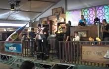 ACTUACIÓN GRUPO TAMUJO MUSIC PROJET EN LA CASETA JOVEN EN LA FERIA DE MAYO 2016.