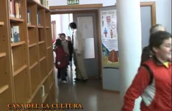 CUENTA CUENTOS EN LA CASA DE LA CULTURA DE ARROYO DE SAN SERVÁN (BADAJOZ).