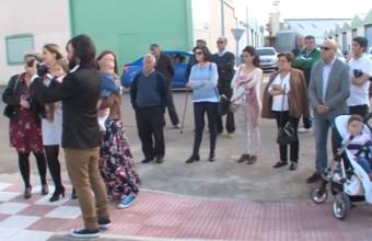 INAUGURACIÓN DE LA PLAZA JORGE MORALES ARROYO DE SAN SERVÁN