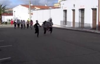 SAN SILVESTRE ESCOLAR EN EL  COLEGIO NUESTRA SEÑORA DE LA SOLEDAD.