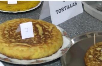 CONCURSO DE TORTILLA EN LA VIII EDICIÓN JORNADAS PARA PERSONAS MAYORES EN 2018.