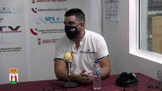 Soy Arroyano Manuel Bote programa grabado en la emisora onda suroeste